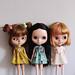 Three little ladies.