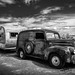 The Old Ford and Airstream Trailer_ by King Grecko