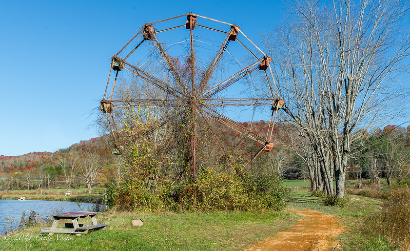 Abandoned Amusement Park, Rock, W. Virginia, November 2 2014