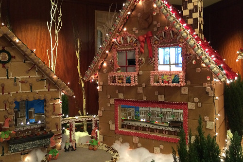 Christmas in the City - The Palace Hotel gingerbread house