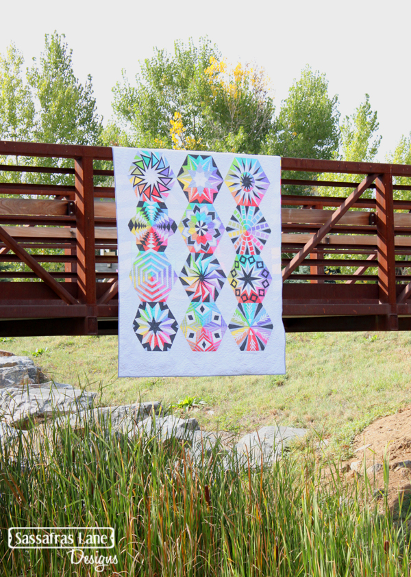 Arcadia Avenue - our new BOM quilt pattern!