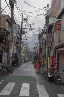 017 Straat bij Metrostation Nakano-Shimbashi