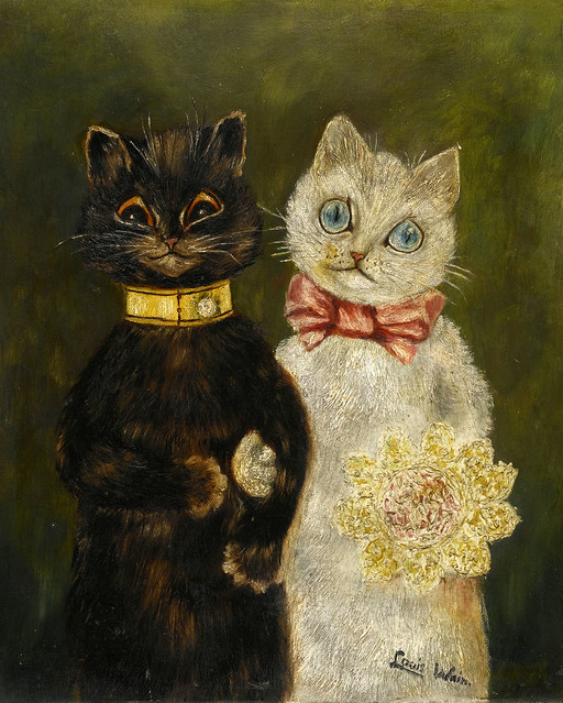 016- Louis Wain-via sothebys