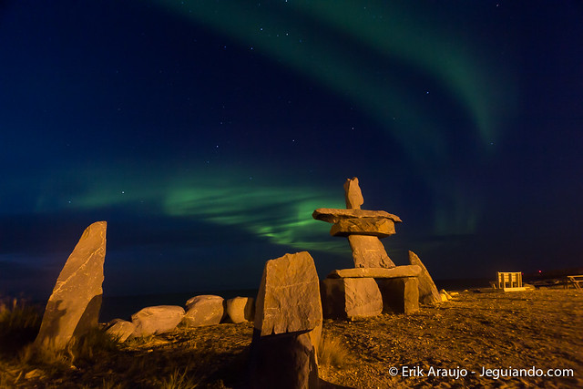 Aurora Borealis @ Churchill, Manitoba, Canada