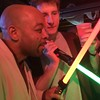 Mace Windu & Lebowski Kenobi #Halloween #Georgetown @@robominister @scifipartyline #jedi #starwars