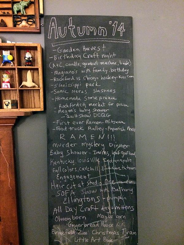 fall 2014 chalkboard