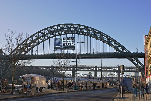 Newcastle Sunday Market; Newcastle, Host City RWC 2015