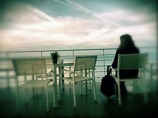 Mirando el mar...