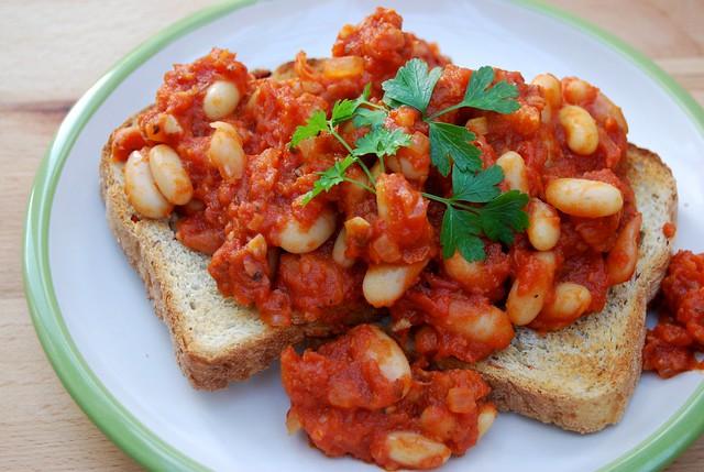 Homemade Chorizo Baked Beans