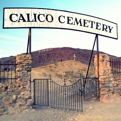 calico ghost town cemetary