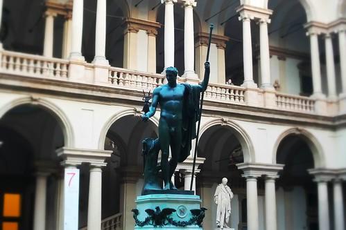 Il bronzo pulito di Napoleone di #Brera