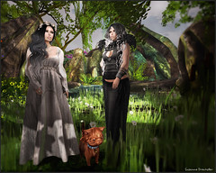 Celestine and Arden Black