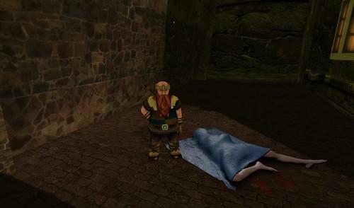 Danger In Darkened Second Life