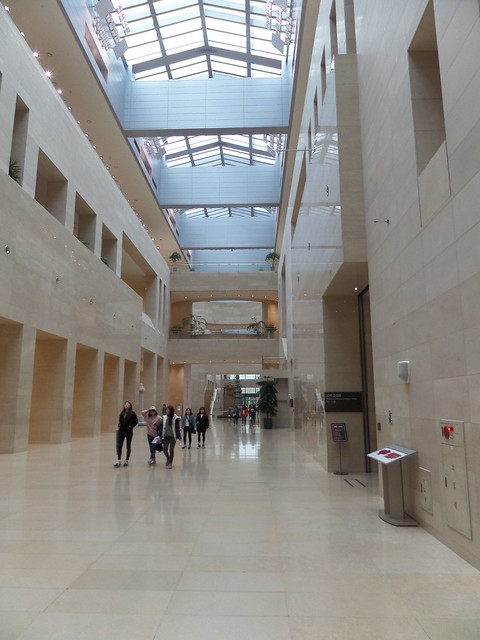 Inside the Main Hall