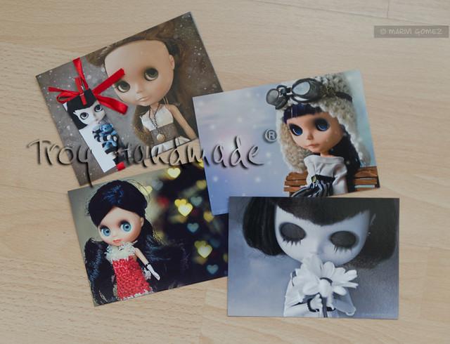 FA pack de postales Blythe