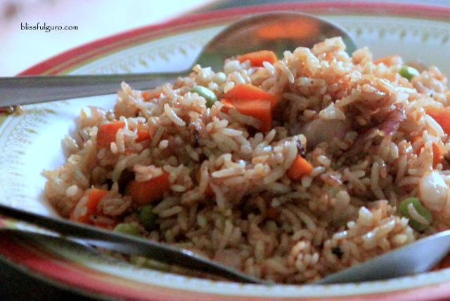 Dhulikhel Nepal Egg Fry Rice