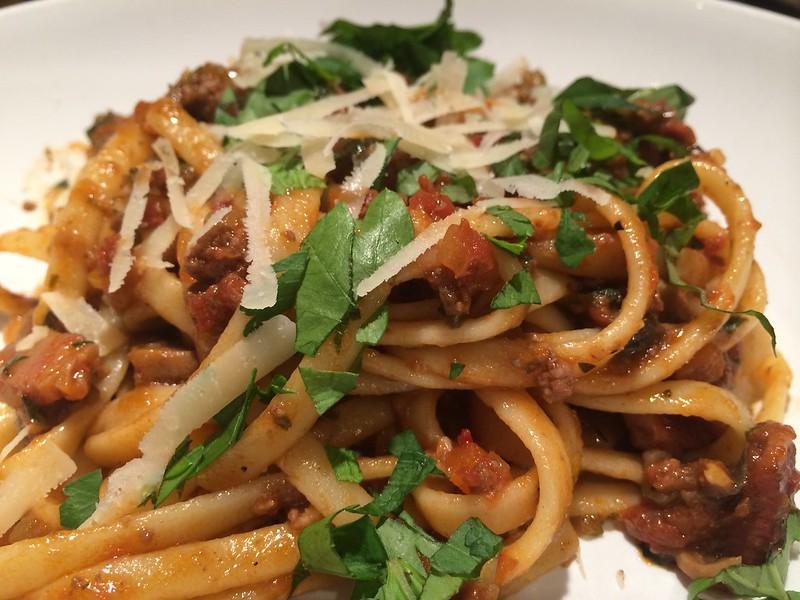 Spaghetti Bolognese : Close Up