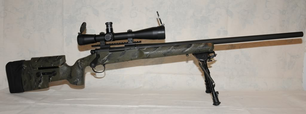 Remington 700 Sniper Rifle Reference Images