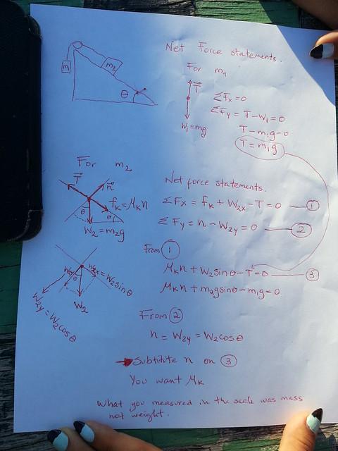 Physics Teacher Note