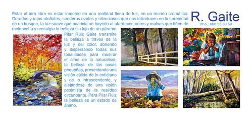 Pilar R. Gaite Exposición.