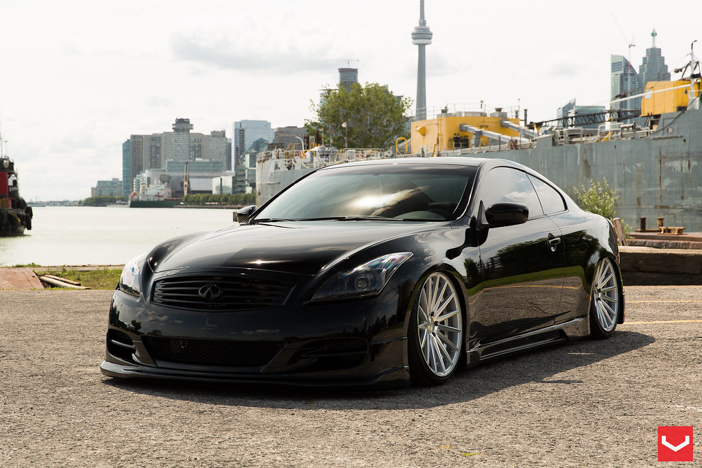 Alvins Sweet Supercharged Infiniti G37 Coupe On Vossen Vfs2s