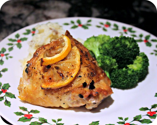 Pan Roasted Lemon Herb Chicken