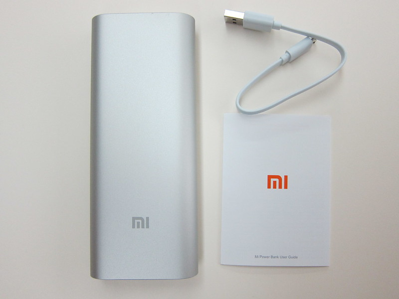 Xiaomi Mi 16,000mAh Power Bank - Contents
