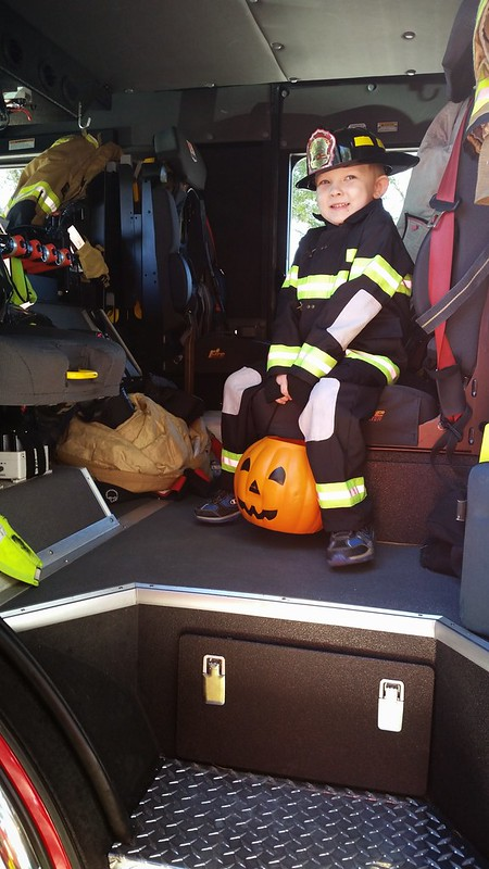 cutest firefighter ever!!