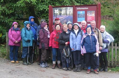 Lostwithiel U3A Walking in Lanhydrock
