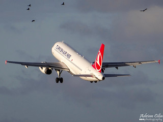 Turkish Airlines --- Airbus A320 --- TC-JUG