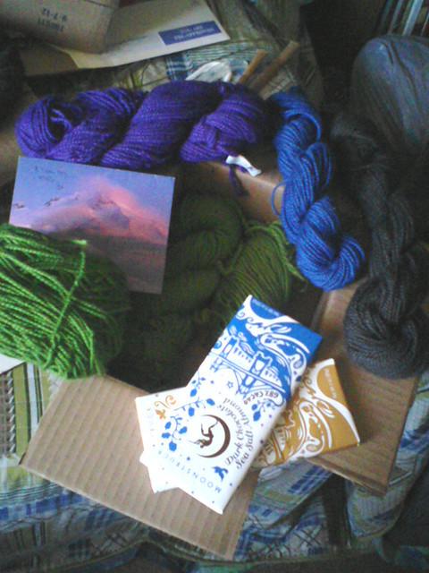 Oooh, yarn!
