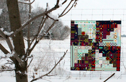 Propelled Pixels Quilt