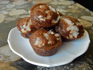 Molasses Crumb Cakelets