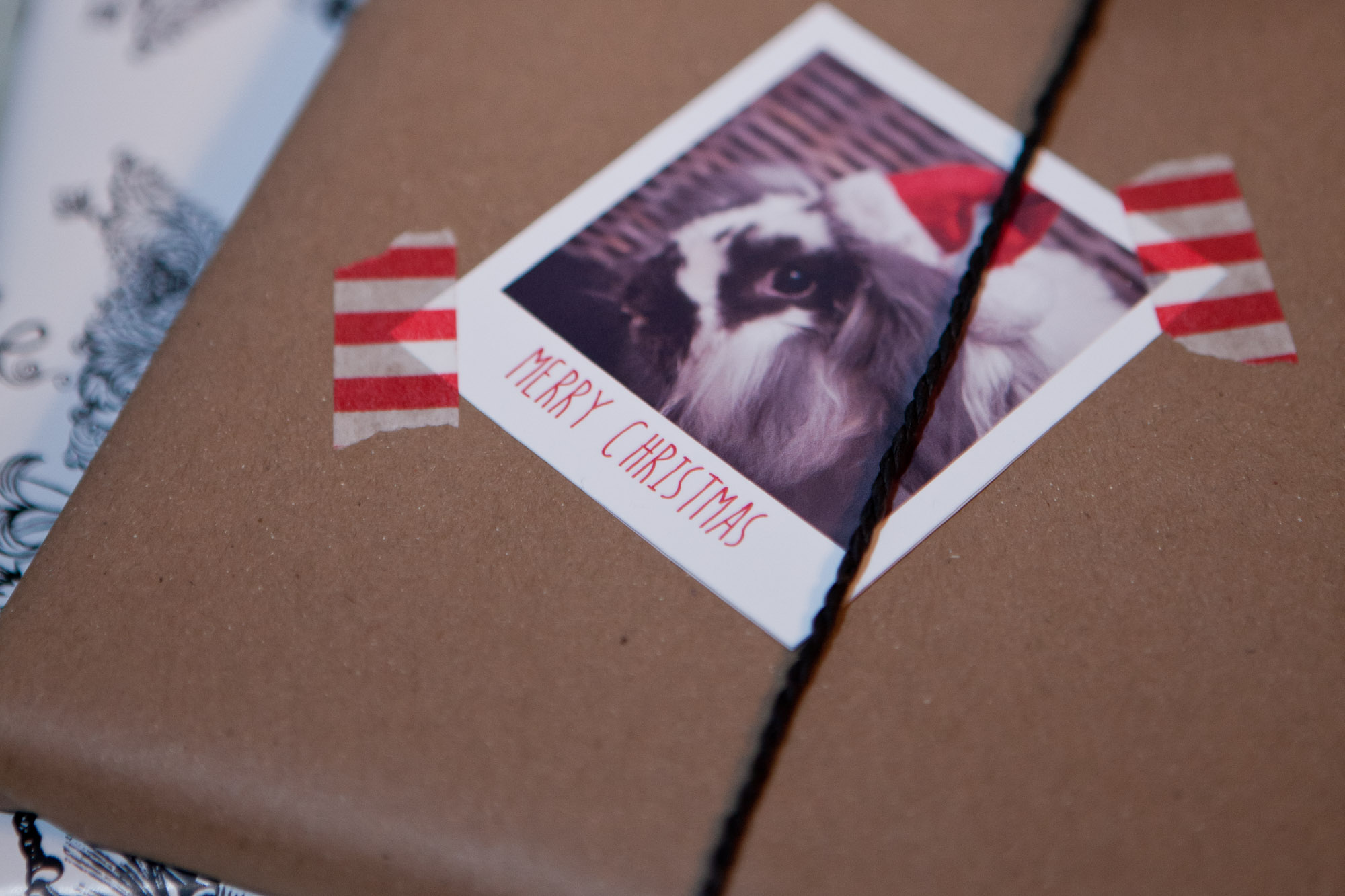 christmas gift wrapping