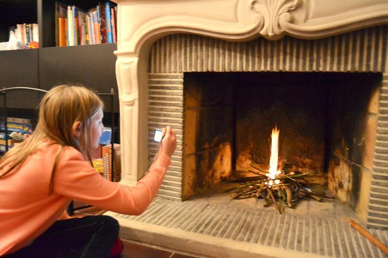 la chimenea de casa 4