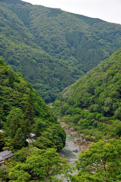 Hozugawa from Kameyama park