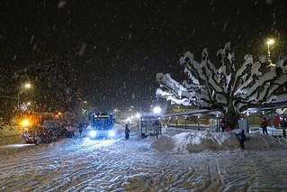 St. Margrethen - Driving snow