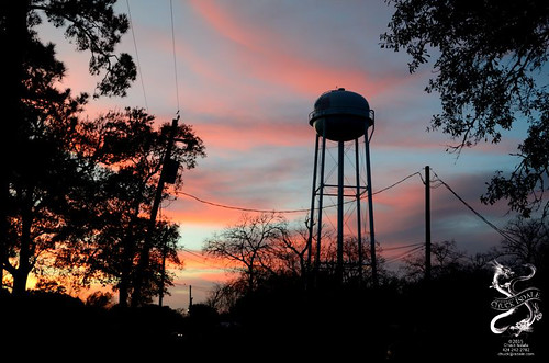orange tower water texas