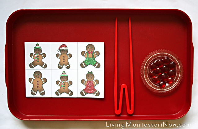 Gingerbread Visual Discrimination and Fine-Motor Activity