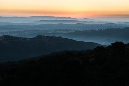 california sunrise landscape laguna