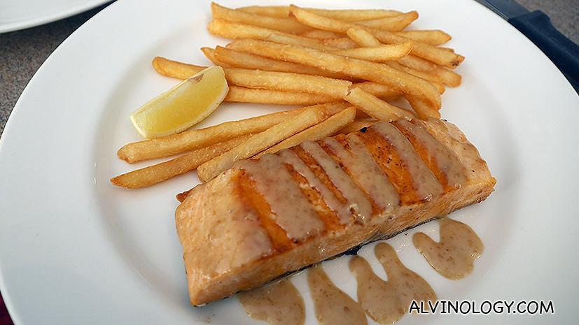 Salmon Goma (S$20.90)