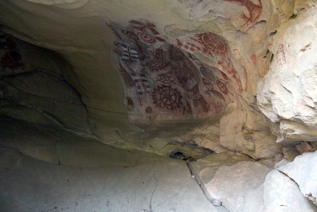Chumash painted caves SHP