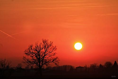 sunset italy sun nature flickr earth group best verona and rise brilliant veneto marculescueugendreamsoflightportal