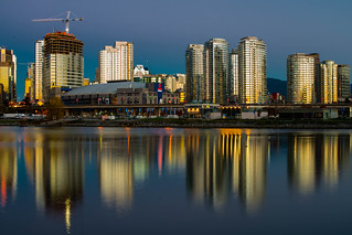 Golden Reflections, Vancouver, 2014