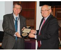 Roger Bland awarded Royal Numismatic Society medal