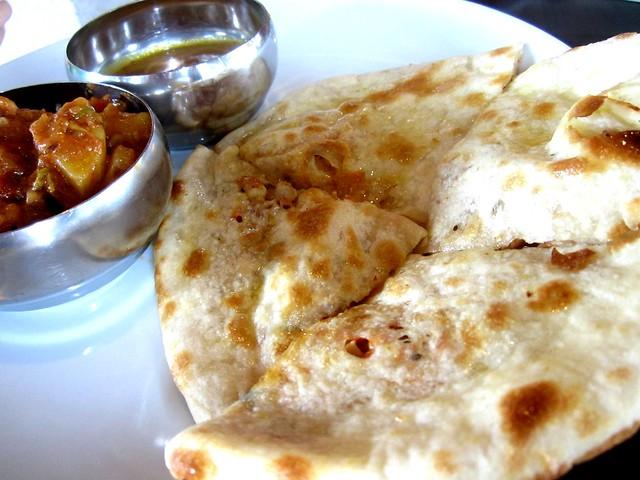 Cafe Ind chicken paratha 1
