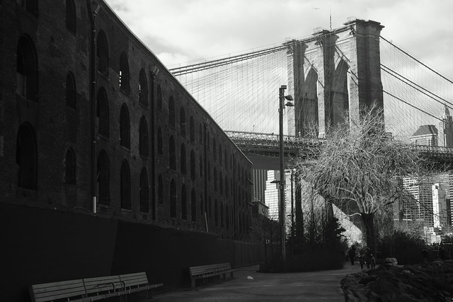 Manhattan Bridge & Brooklyn Bridge, NY, 25 Dec 2014. 131
