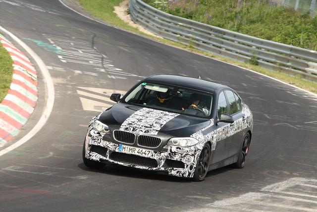 BMW M5 test mule 3