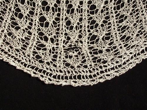 Fixing lace shawl (II)