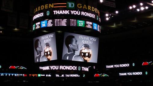 Thank you, Rondo